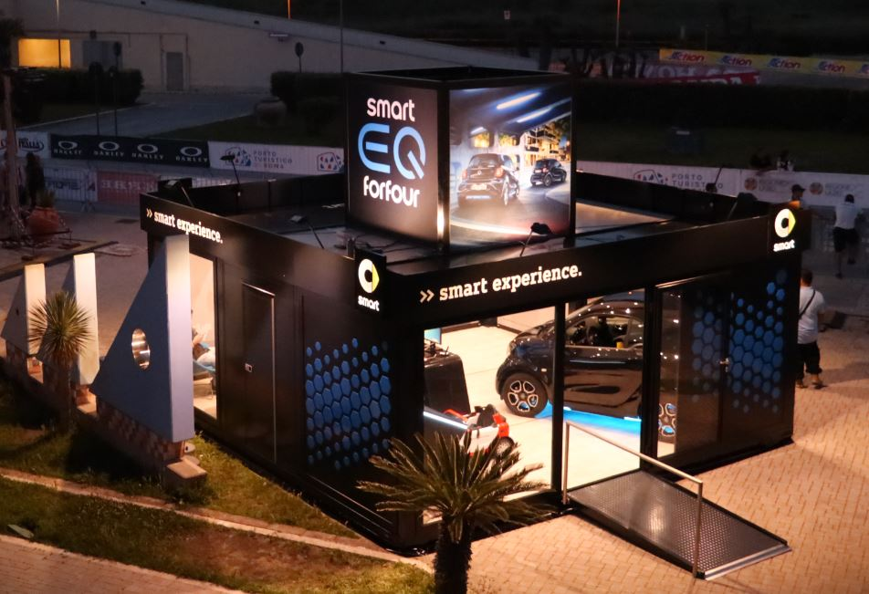 Rom1 - Smart Experience Hub Modell: LongTail, Rom 2019